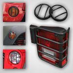 Jeep  Wrangler Jk 10 Piece Euro Guard Light Kit (2007-2018)