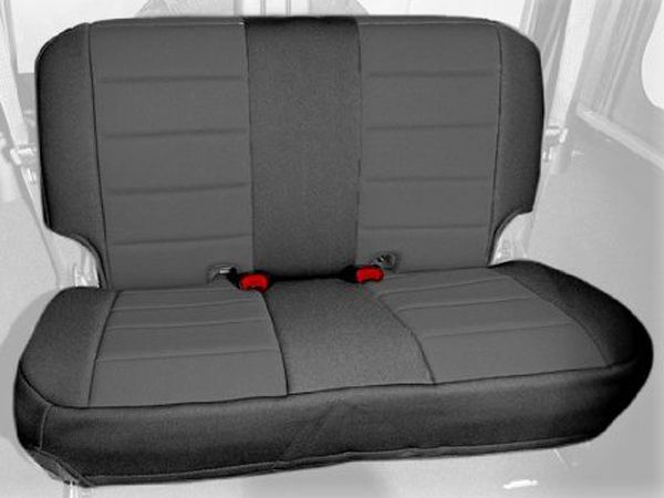 Jeep Wrangler Seat Covers >> Jeep Wrangler Jk 2 Door Rear Seat Cover 2007 2018