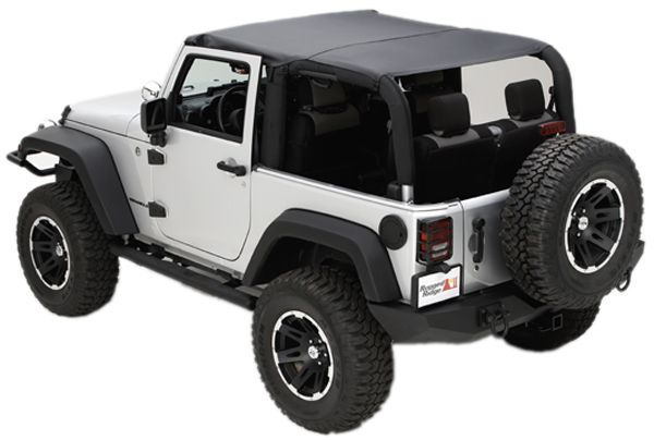 Jeep Wrangler Jk 2 Door Soft Top Island Topper 2007 2010 Xxx13588 Series