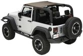 Jeep Wrangler (JK) 2 Door Summer Brief Top w/Pockets (2011-2018)