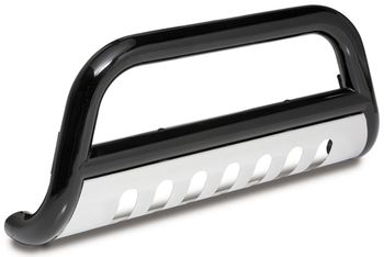 "Jeep Wrangler Jk 3"" Black Powder Coated Bull Bar (2007-2014)"