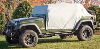 Jeep Wrangler JK 4-Door Weather Lite Cab Cover (2007-2018)