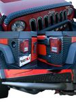 Jeep Wrangler (JK) 5 Piece Black Body Armor Kit (2007-2018)
