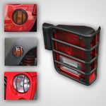 Jeep Wrangler Jk 8 Piece Euro Guard Light Kit (2007-2018)