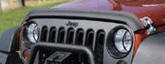 Jeep Wrangler JK Black Bug Deflector (2007-2018)