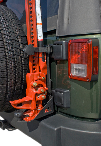 Image of Jeep Wrangler JK Hi-Lift Style Jack Mounting Bracket (2007-2018)
