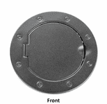 Jeep Wrangler JK Non-Locking Textured Black Gas Cap Door (2007-2018)