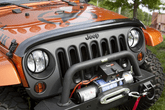 Jeep Wrangler JK Smoke Bug Deflector (2007-2018)