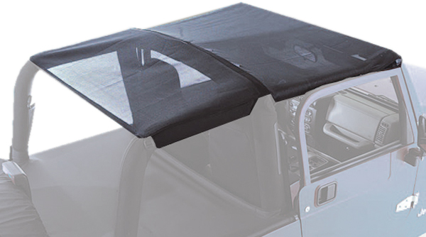 Image of Jeep Wrangler Mesh Roll Bar Top (1997-2006)