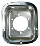 Jeep Wrangler Stainless Steel Gas Tank Filler Cover (1976-2006)