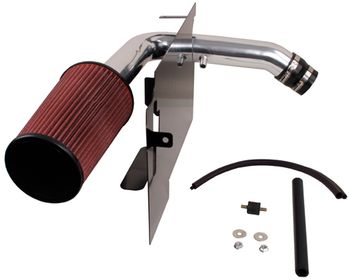 Jeep Wrangler (TJ) 2.4L Polished Aluminum Air Intake Kit (2003-2006)