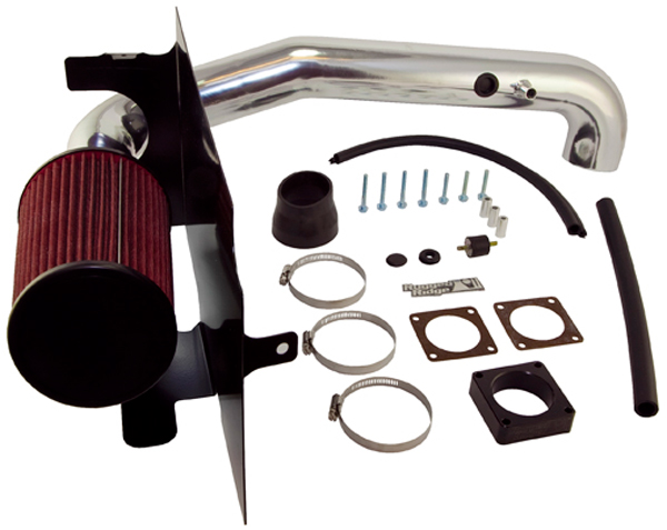 Jeep Wrangler (TJ) 4.0L Polished Aluminum Air Intake Kit (1997-2006)