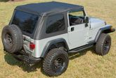 Jeep Wrangler TJ Bowless XHD Soft Top (1997-2006)