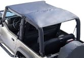 Jeep Wrangler (TJ) Soft Top Island Topper (1997-2006)