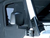 Jeep Wrangler & Unlimited Black Passenger Side Mirror (2003-2006)