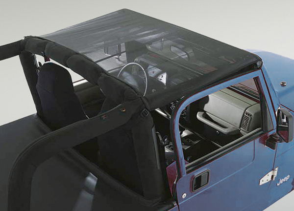 Image of Jeep Wrangler & Unlimited Mesh Summer Brief Top (1997-2006)
