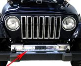 Jeep Wrangler/Unlimited Stainless Steel Front Frame Cover (1997-2006)