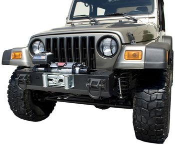 Jeep Wrangler XHD Front Bumper Winch Mounted Bumper Base (1976-2006)