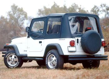 Jeep Wrangler XHD Soft-Top Replacement Tops (1987-2009)
