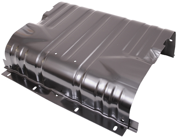Image of Jeep Wrangler YJ & CJ 15 Gal Fuel Tank Skid Plate (1976-1990)