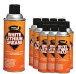 Johnsen's White Lithium Grease - 12 Pack (11 oz)