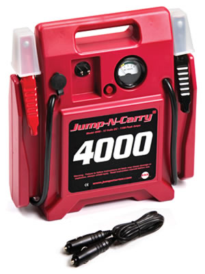Image of Jump-N-Carry 4000 Battery Booster- 12 Volt 1100 Amp