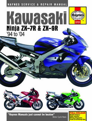 Kawasaki Ninja ZX-7R and ZX-9R Haynes Repair Manual (1994 - 2004)