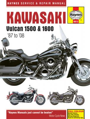 Kawasaki Vulcan 1500 & 1600 Haynes Repair Manual (1987-2008)