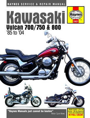 Kawasaki Vulcan 700 750 and 800 Haynes Repair Manual (1985 - 2004)