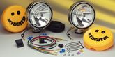 KC Hilites Daylighter Deluxe Quartz Halogen Polished Steel Long Range Off-Road Light Kit