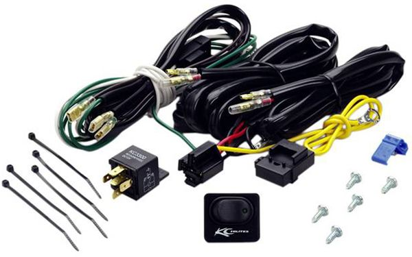 Kc Hilites Deluxe Wiring Harness With 40 Amp Relay