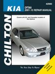 Kia Optima Chilton Repair Manual (2001-2010)