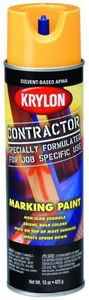 Krylon Contractor Marking APWA Safe Yellow Paint (15 oz)