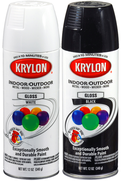 Image of Krylon Interior & Exterior Spray Paint (12 oz.) - Banner Red