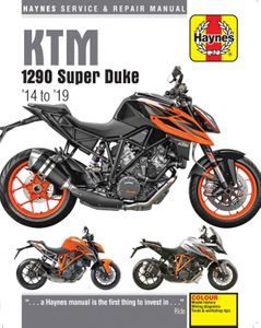 KTM 1290 R & 1290 GT Haynes Repair Manual (2014-2019)