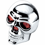 LED Skull Hitch Cover by Pilot