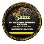 Leopard Print Steering Wheel Cover