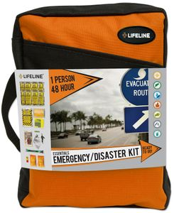 Lifeline One Person, 48 Hour Essential Emergency & Disaster Kit