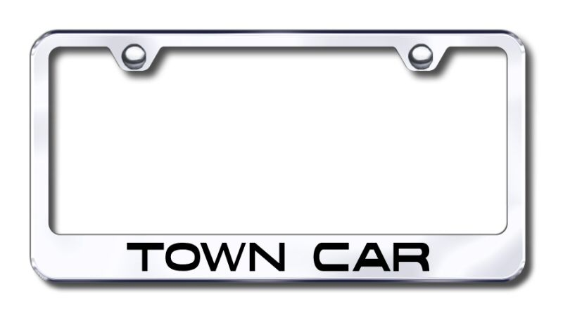 Lincoln MKS Laser Etched Stainless Steel License Plate Frame XXXLF-MKS-EC