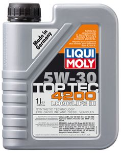 Liqui-Moly Top Tec 4200 5W30 Synthetic Motor Oil