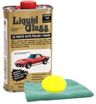 Liquid Glass Ultimate Auto Polish (8 oz.), Microfiber Cloth & Foam Pad Kit