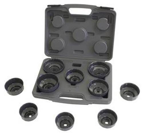 Image of Lisle 10 Pc. Heavy Duty Cap Filter Wrench Set
