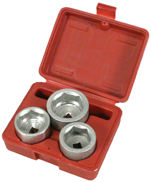 Lisle 3 Piece Low Profile Filter Socket Set