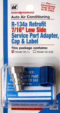 Image of Low Side Adapters with Cap & Retrofit Label