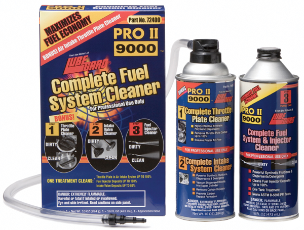 Image of Lubegard Complete Fuel System Cleaner Kit (2 Can)