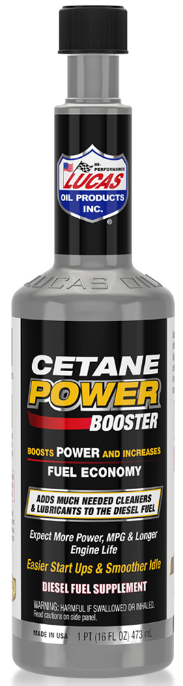 Image of Lucas Cetane Power Booster Diesel Fuel Additive (16 oz)