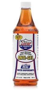 Lucas Oil Anti-Gel Cold Weather Diesel Treatment - (1 Quart)