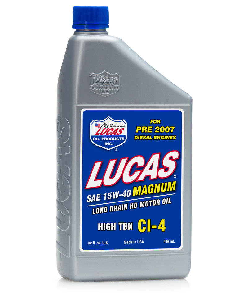 Image of Lucas 15/40 High TBN Truck Oil (1 Qt.)