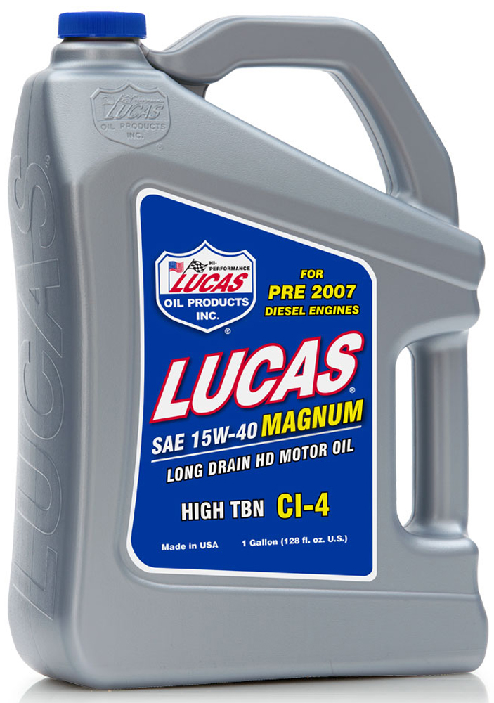 Image of Lucas 15W40 Magnum High TBN CI-4 Truck Oil (Gallon)