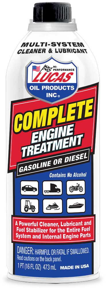 Image of Lucas Complete Engine Treatment Cleaner & Lubricator (16 oz)